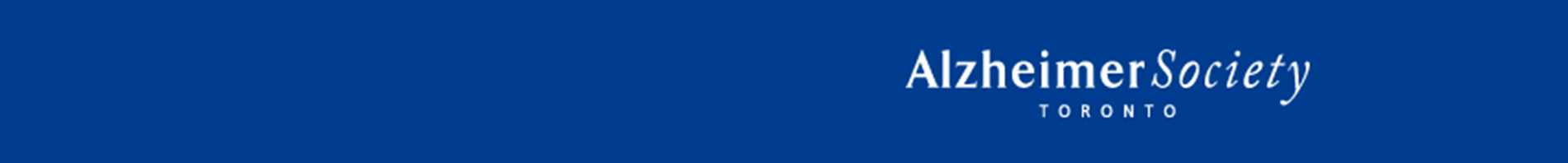 Alzheimer Society Toronto - Memory and Company